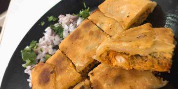 Chicken Baida Roti