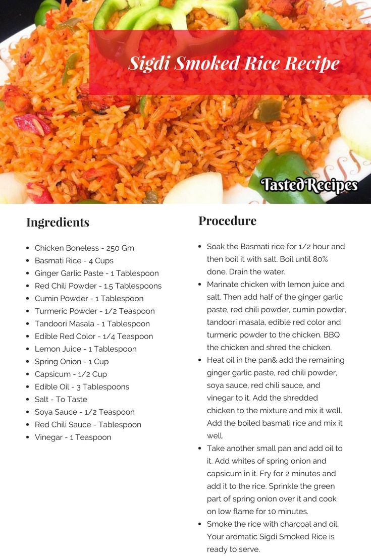 Sigdi Smoked Rice