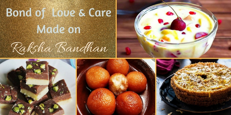 rakhi recipes