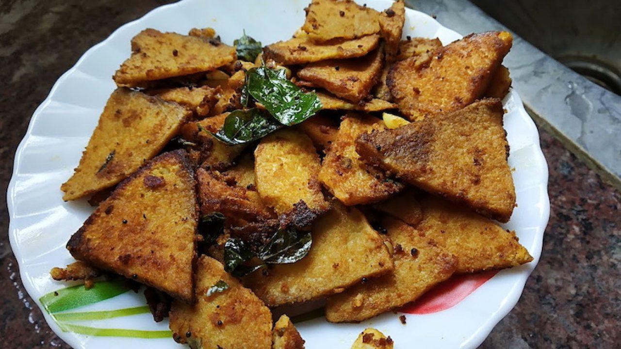 Elephant Foot Yam Recipe Karunai Kilangu Shallow Fry Tastedrecipes