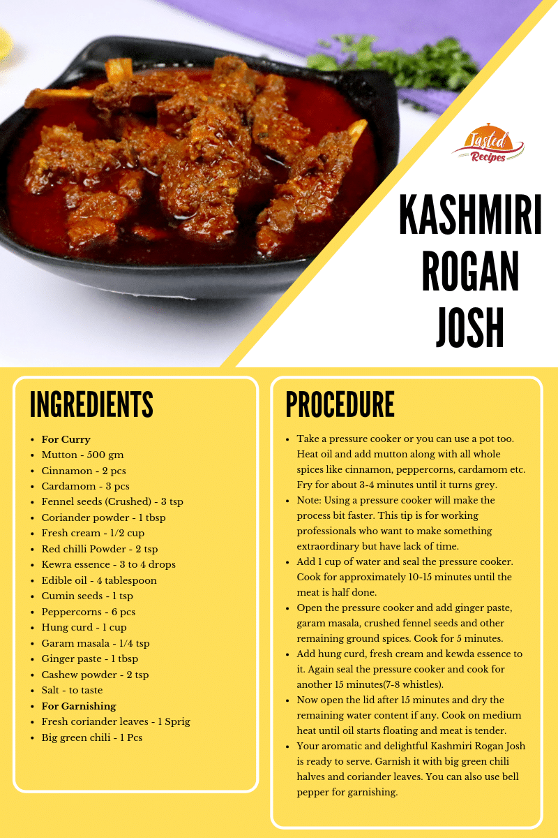 kashmiri rogan josh recipe card
