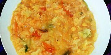 Cabbage kootu