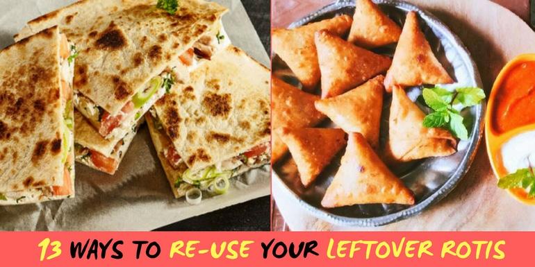 leftover chapati recipe