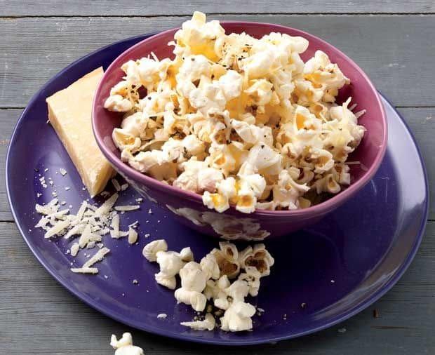 parmesan & black pepper popcorn