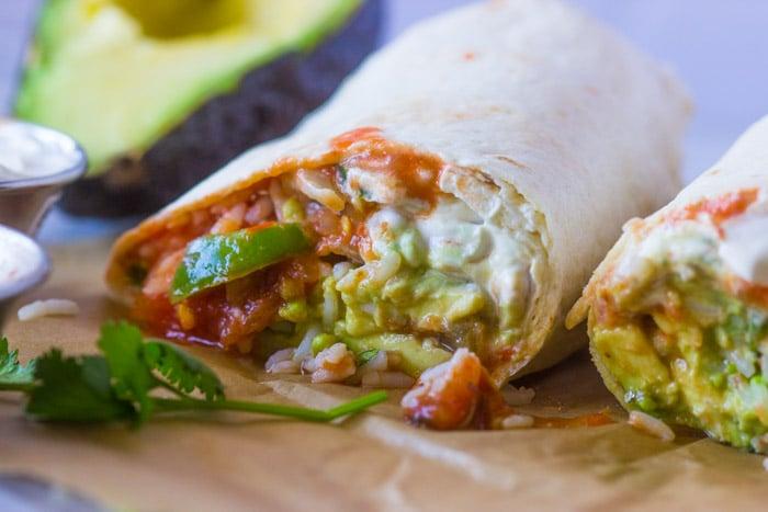 veggie-burritos