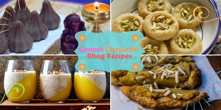 Mahabhog Recipes For Ganesh Chaturthi