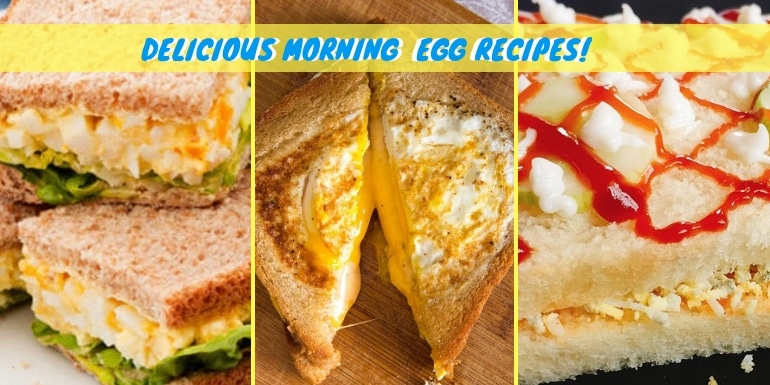 bread and egg recipes