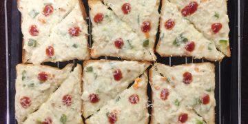 Veg Bread Pizza