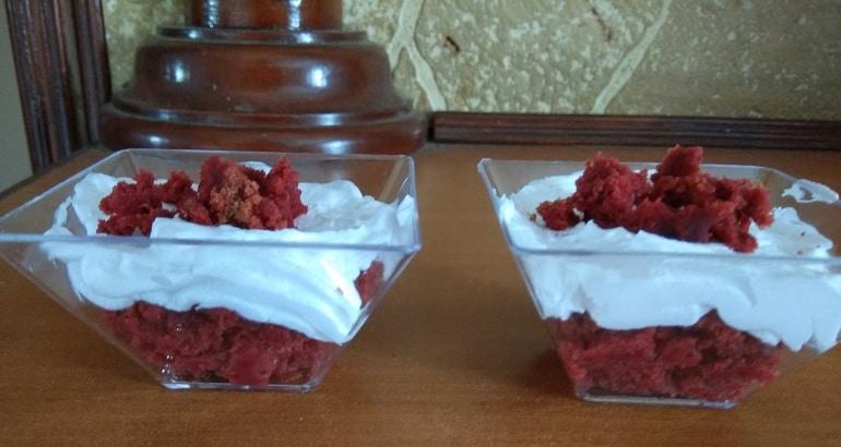 Red Velvet Trifle
