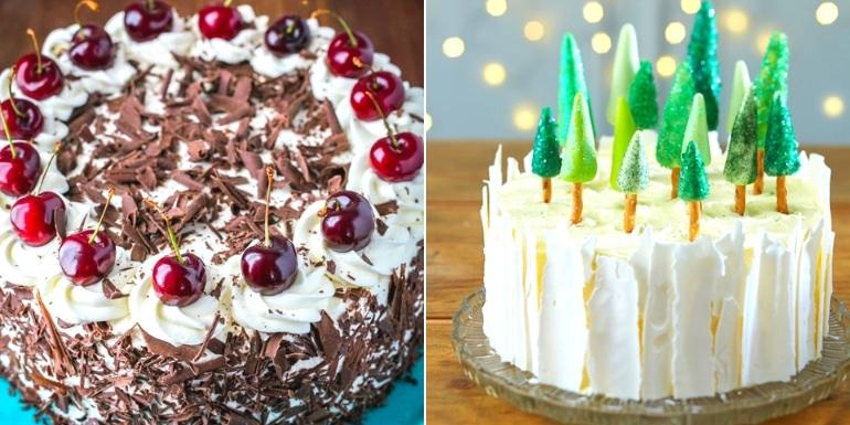 16 Amazing Christmas Cake Recipes For Christmas Eve Tastedrecipes