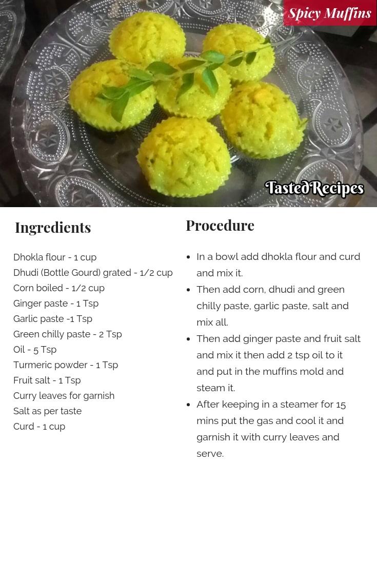 Spicy Muffins