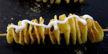 Easy Spiral Potato Recipe