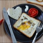 Egg In A Hole Recipe - Easy Breakfast Recipe