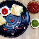 No Cook Kite Sandwich Recipe - Uttarayan Special Recipe