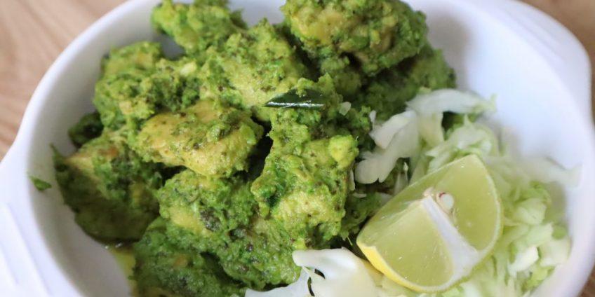 hara bhara chicken tikka