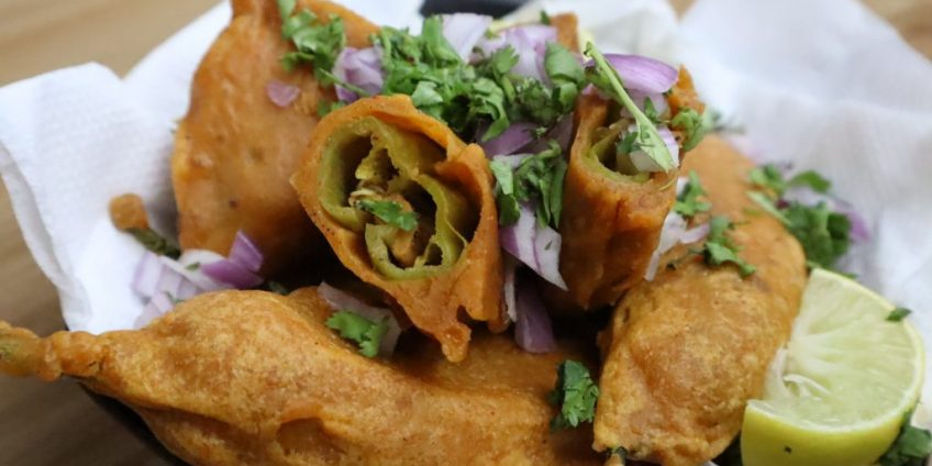 mirchi fritters