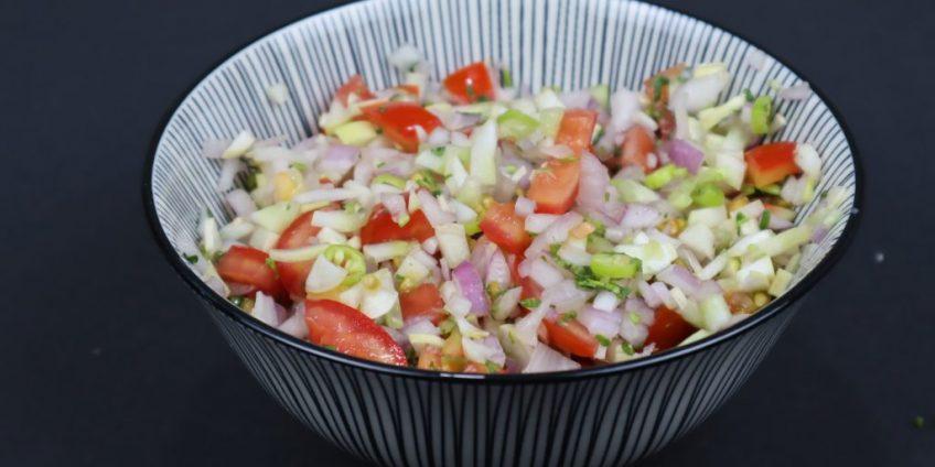 Indian Kachumbar salad