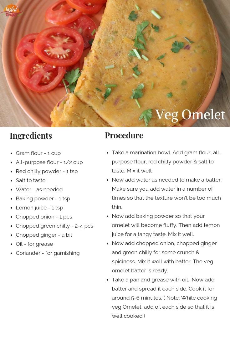 veg omelet