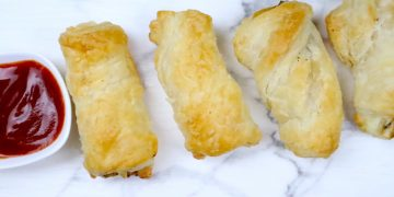 Twisted Chicken Puff Pastry
