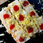 grated boiled egg sandwich