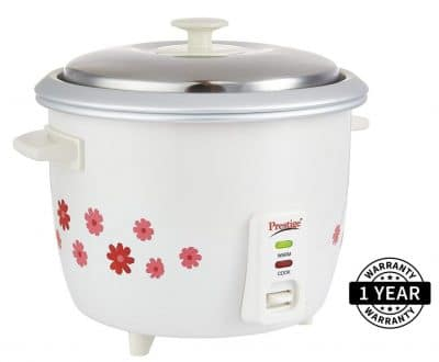 Rice Cooker Stainless Steel Pot Electric Rice Cooker Non Stick 1.8Litre 700 Watt