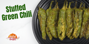 stuffed green chilli