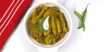 spicy potato sabzi