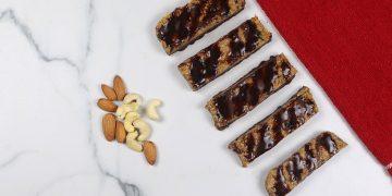 Cocoa Dip Protein Bars